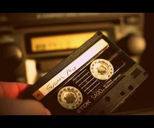mix tape, vintage, and music image