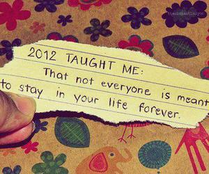 2012, quote, and life image