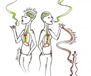drugs, high, and hookah image