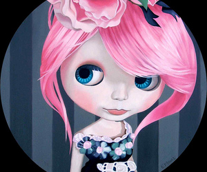 doll, art, and blue eyes image