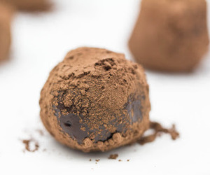 chocolate, truffles, and bailey's image