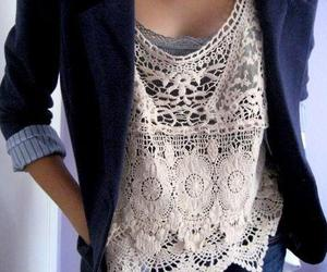 fashion, style, and lace image