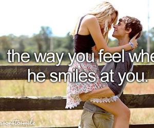 love, smile, and boy image