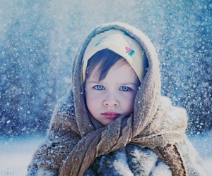 snow, winter, and russian Girl image