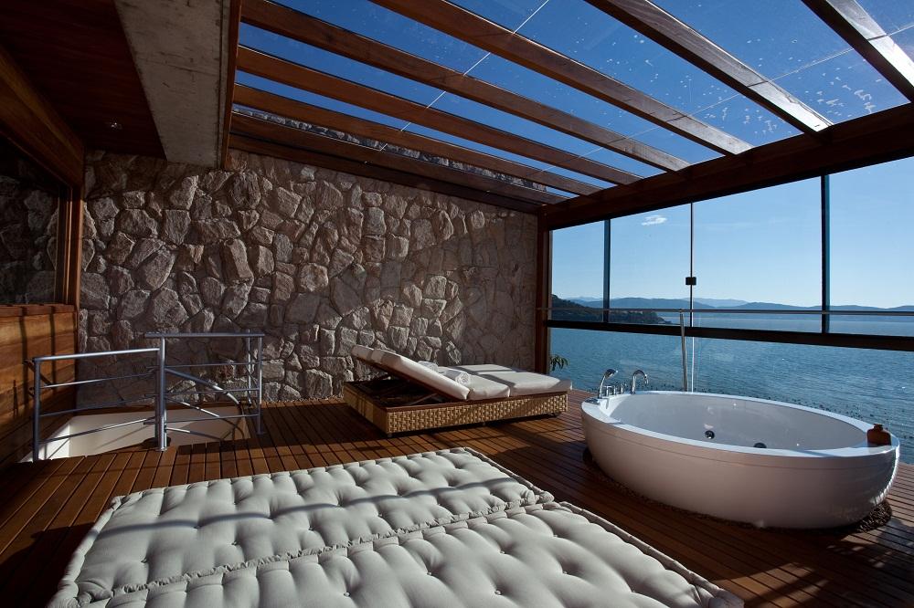 bath, decor, and douche image