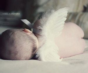 baby, angel, and cute image