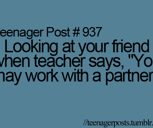 teenager post, friends, and school image