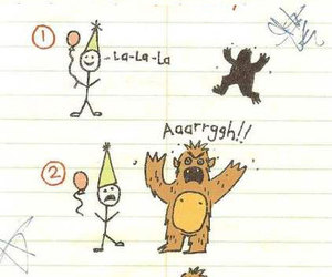 monster, party, and aaarggh image