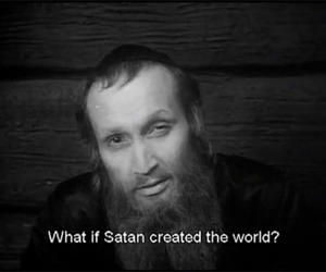 satan, world, and what if image