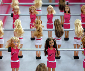 barbie, pink, and game image