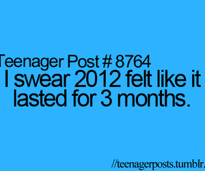 2012, quote, and teenager post image