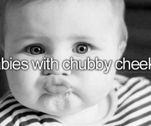 baby, cute, and chubby image