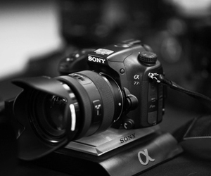 camera, sony, and photography image
