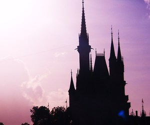 castle, beautiful, and disney image