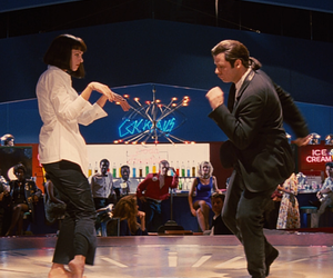pulp fiction, dance, and movie image