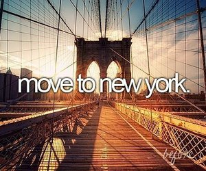 new york, before i die, and Move image