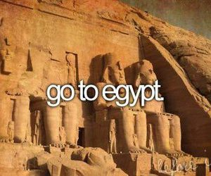 egypt, before i die, and Dream image