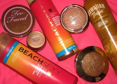 beauty, tanned, and bronzer image