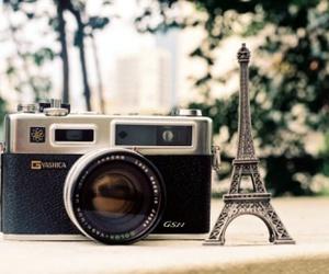 paris, camera, and wedding image