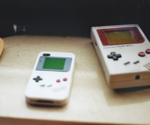 photography, vintage, and gameboy image