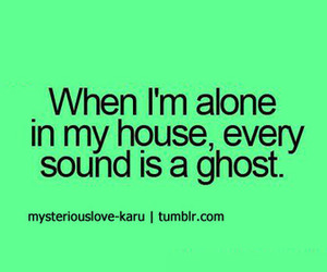 ghosts, sounds, and home alone image