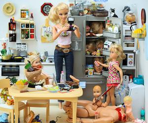 barbie, funny, and killer barbie image