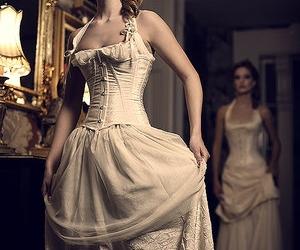 corset and dress image