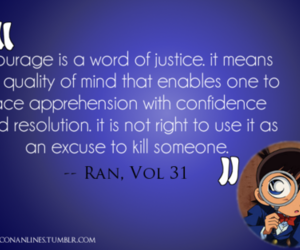 quote, text, and detective conan image