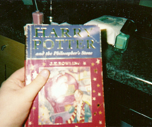 harry potter, book, and hipster image
