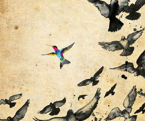 bird, be yourself, and yourself image