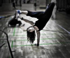 break dance, dancer, and girl image