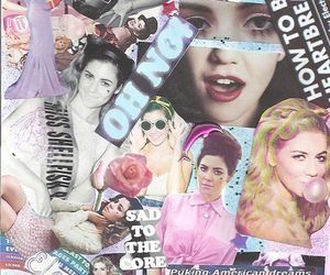 marina and the diamonds, Collage, and grunge image
