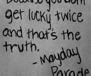 mayday parade, quote, and Lyrics image