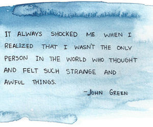 quote, john green, and text image
