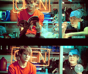 McFly, that girl, and music video image