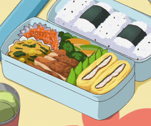 anime, food, and bento image