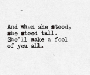 fool, girl, and quote image