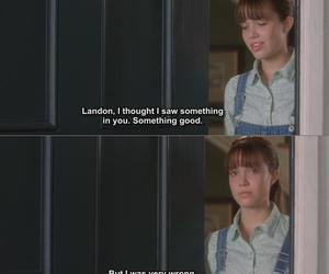 A Walk to Remember, movie, and movie quotes image