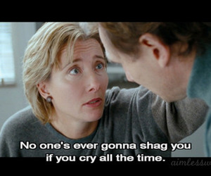 cry, emma thompson, and love actually image
