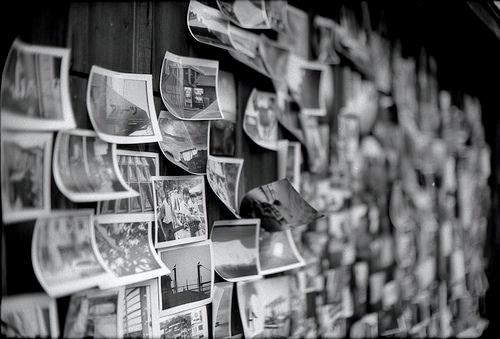 black and white, photography, and memories image