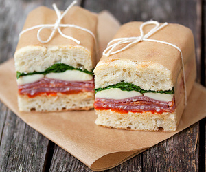 bread, sandwich, and italian image