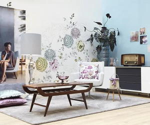 50's, 50s, and decor image
