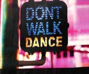 dance and walk image