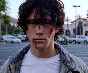 boy, blood, and Joseph Gordon-Levitt image