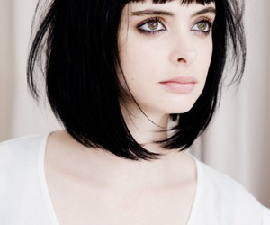krysten ritter, hair, and black hair image