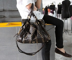 bag and leather image