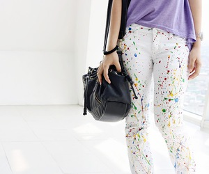 colorful and pants image