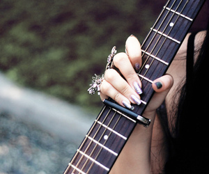guitar and nails image