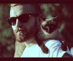 beard, guy, and beautiful image