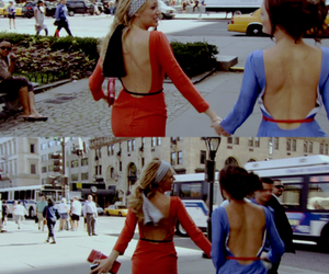 blair waldorf, Serena Van Der Woodsen, and gossip girl image